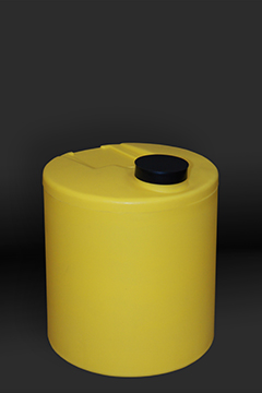 Yellow 10 Gallon Polyethelyne Tank