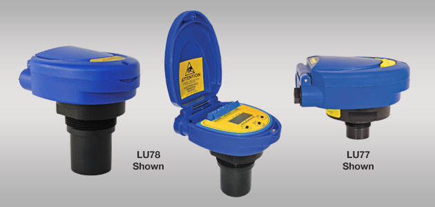EchoSwitch® LU74-78  Ultrasonic Level Switch &