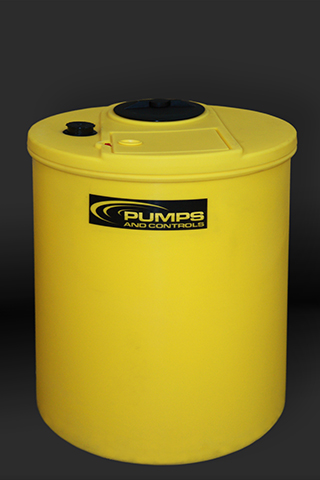 "65/98 Gallon Dual Containment Tank 28""W x 39 1/2""H Yellow"