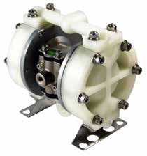 "TC-X151PC-NPT DIAPHRAGM PUMP 1/2"" NPT, PPG/NEOPRENE"