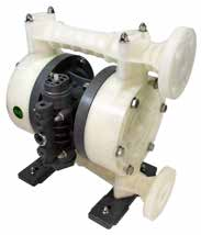 "TC-X252PC-NPT DIAPHRAGM PUMP 1"" NPT, PP/NEOPRENE"