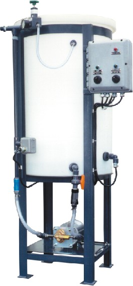 Dual economy 55 gallon glycol feed system with low level