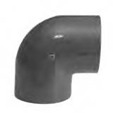 "1/4"" 90 Deg Elbow (SxS) PVC Schedule 80"
