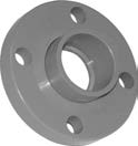 "4"" Van Stone Flange (S) with PVC Ring"